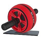 Allenamento addominali AB ROLLER PER ADDOMINALI AB WHEEL per Fitness–Omaggio Allenamento manuale e Matte–(Trainer, Attrezzo per addominali, pancia Roller, dal ginocchio, Rotolo, addominali, Dispositivo)