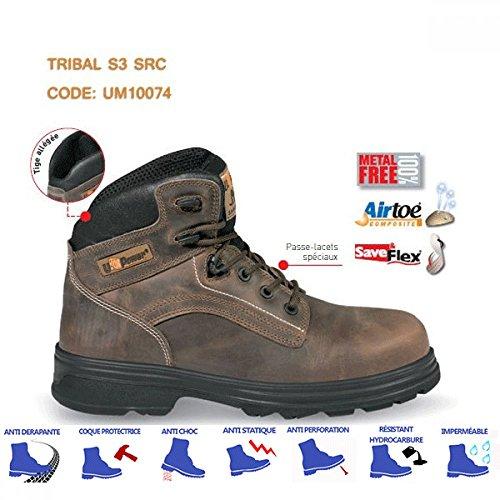 Upower - Chaussures sécurité TRIBAL S3 src Marron