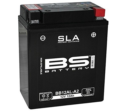 Xfight-Parts Batterie BB12AL-A2 12V 12Ah SLA DIN 51213 Versiegelt (FA) 134x161x80mm 0.537.863-3 für Yamaha XV 535 Virago