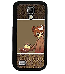 PRINTSWAG SWEET GIRL WITH TEDDY Designer Back Cover Case for SAMSUNG GALAXY S4 MINI