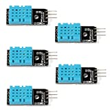 WINGONEER 5PCS de température Module de capteur d'humidité numérique DHT11 pour Arduino Framboise Pi 2 3