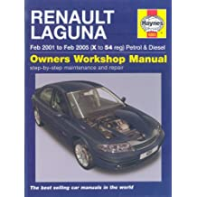 Renault Laguna Petrol and Diesel Service and Repair Manual: 01 to 05