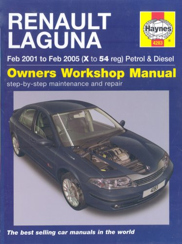 Renault Laguna Petrol and Diesel Service and Repair Manual: 01 to 05 (Haynes Service and Repair Manuals) por Peter T. Gill