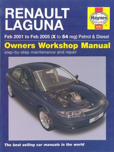 Renault Laguna Petrol and Diesel Service and Repair Manual: 01 to 05 (Haynes Service and Repair Manuals)