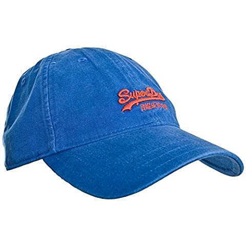 Superdry Chino Twill Cap Washed Royal One Size Washed