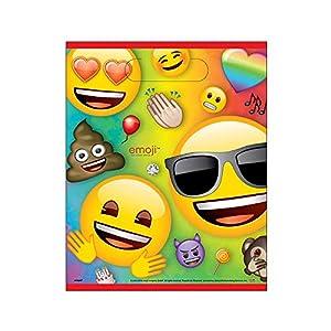 Unique Party 79443 - Bolsas para fiestas, multicolor