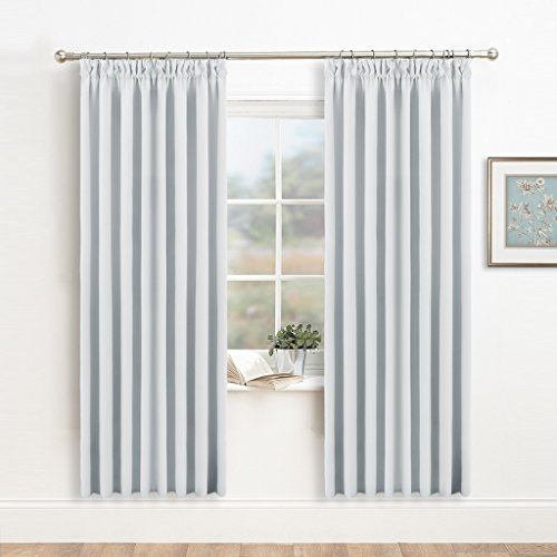 window treatments curtain draperies white pony dance readymade solid noise reducing room darkening curtains energy saving drapes for kidu0027s room