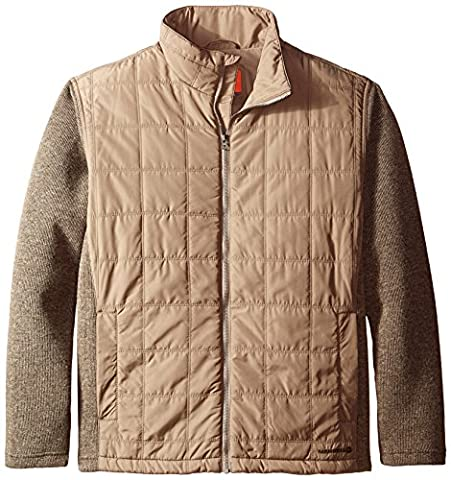 Merrell Men's Big Sky Hybrid Jacket, XX-Large, Cappuccino Heather