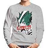 Plus Ultra Skate Brand My Hero Academia Men's Sweatshirt