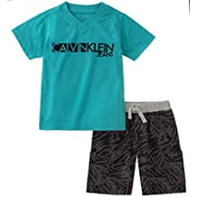 Calvin Klein Baby Boys 2 Pieces Short Set