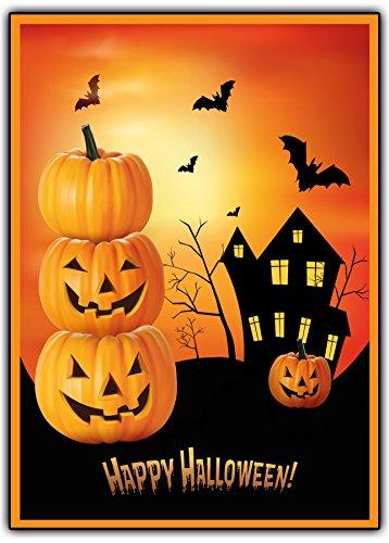 Halloween Einladungskarten gruselig zum Kindergeburtstag Genurtstag Einladung Halloweenparty Sarg Kinder Erwachsen-eParty Feier (12 Stück)