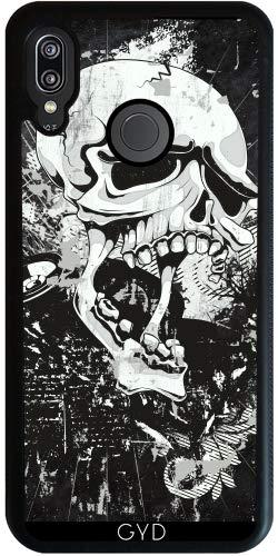 DesignedByIndependentArtists SilikonHülle für Huawei P20 Lite - Dunkle Gotische Schädel- by Gatterwe