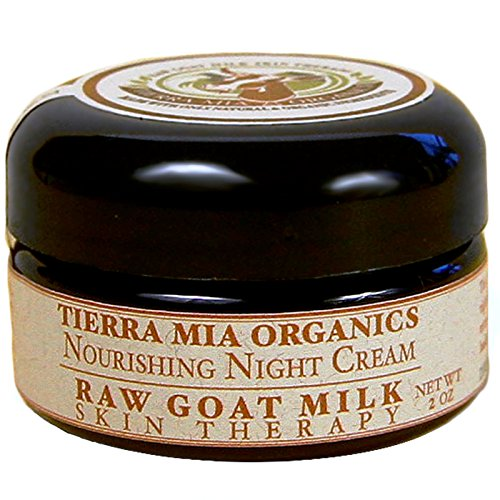 Tierra Mia Organics, Raw Ziegenmilch Hauttherapie, Nourishing Night Cream, 2 oz