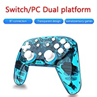 Mainstayae Wireless Switch Pro Controller for Nintendo Switch and Switch Lite Built-in Six-axis Gyroscope Turbo Dual Vibration BT Connection