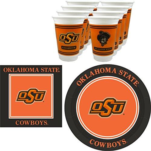 Westrick Oklahoma State Cowboys Party-Set - 48 Stück (16 Stück)