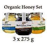 Die besten Bio-Honig - 825 g Bio-Honig-Set (3 x 275 g) Bewertungen