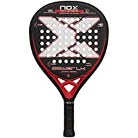 NOX 2018 Pala de pádel Luxury Power L4, Negro/Blanco, 0