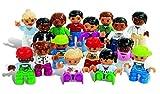 LEGO DUPLO Leute aus aller Welt 'NEU' 5011 - 16 Elemente für 1-6 Spieler von 2 - 5 Jahren! Das Set besteht aus 4 unterschiedlichen Familien