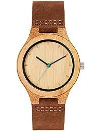 Mam Originals Boreas Bamboo Unisex Wooden Analogue Quartz Movement Watch