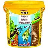 sera 00196 vipan Großflocken 4 kg (21l) -  der Klassiker - Hauptfutter für alle Zierfische in Gesellschaftsaquarien, Flockenfutter, für schönere und größere Fische