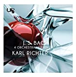 Bach : Les Suites pour orchestre. Richter.