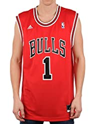 adidas Herren Trikot Chicago Bulls NBA Replica