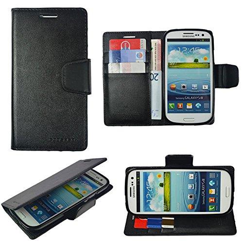 Für Apple iPhone Book Tasche Handy Hülle Etui Flip Cover Klapptasche iPhone 4 - 4s Braun Mint
