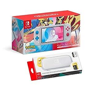 Nintendo Switch Lite Limited Edition, Zacian & Zamazenta + Tasche & Schutzfolie