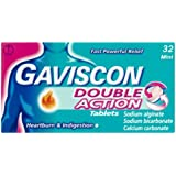 Gaviscon Double Action Tablets - Mint, Pack of 32