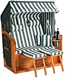 Strandkorb Binz XL  in grün -fertig Montiert- als Ostseemodell sofort nutzbar für Ihr zu Hause