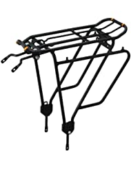 Ibera PakRak Bicycle Touring Carrier Plus+ IB-RA4 Frame-mounted for heavier top & side loads by Ibera
