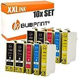 10 Bubprint Druckerpatronen kompatibel für Epson T1301 T1302 T1303 T1304 für Stylus Office BX320FW BX525WD BX535WD BX625FWD BX635FWD BX935FWD SX525WD SX620FW WorkForce WF-3520 DWF WF-3540 DTWF WF7525
