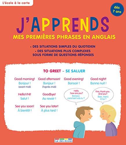 J'apprends mes premières phrases en anglais, dès 7 ans