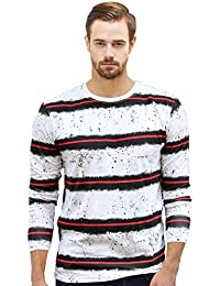WYO Men's Cotton Stylist Regular Fit Full Long Sleeve T-Shirt   T-Shirt For Men's  Men's Full Sleeve Style T-Shirt...