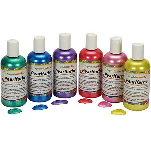 pearl-farben-set-metallic-6-farben-rot-rosa-lila-grun-gelb-blau-je-150ml-in-tuben-flaschen-wasserfes