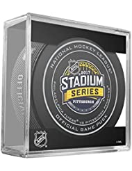 2017 Stadium Series Pittsburgh NHL Official Game Puck