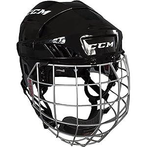 CCM Fitlite 60 Helm Combo Senior, Größe:M;Farbe:schwarz