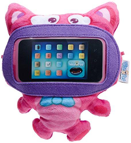 Wise-Pet Interaktives kuschelig Displayschutzfolie für iPod Touch, iPhone und Android Smartphones, Mini-Kitty -