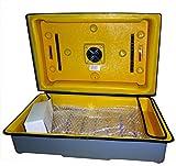 BRAMA Semi Automatic ABS Electric Chicken Egg Incubator, 60 x 20 x40cm (White)