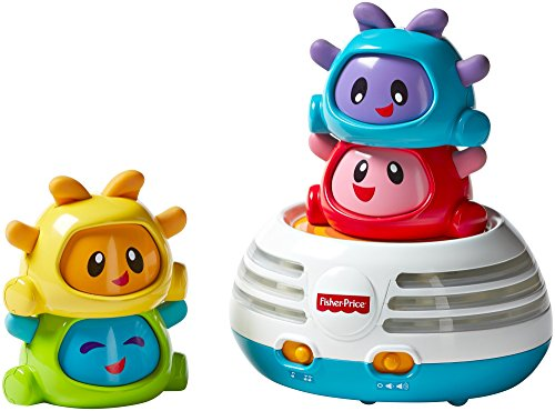 Image of Fisher-Price DHW29 Build-a-Beat Stacker Toy