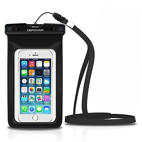 DBPOWER-Custodia-Impermeabile-per-Apple-iPhone-44s55s66s6plus6s-plus-Samsung-Galaxy-s3s4s5-ecc-Protezione-contro-Polvere-e-Sporco-Custodia-Antineve-per-Cellulari-Fino-a-6-Pollici-Nero