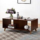 soges Mueble de Almacenamiento para Mueble de TV Moderno,HHCT001-WN