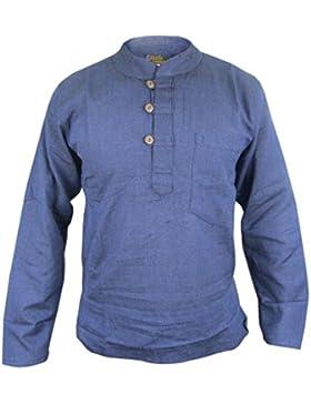 LITTLE KATHMANDU -  Camicia Casual  - Maniche lunghe  - Uomo