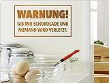 I-love-Wandtattoo 11850 Wandtattoo Küche