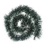 RWINDG Weihnachtsfeier Weihnachtsbaum Ornamente 2m Lametta Hängende Dekorationen 5 Farben Zu Licht Weihnachtsengel Weihnachtsaccessoires