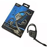 Gioteck EX-03 Wireless Bluetooth Headset fuer PS3 PlayStation 3 WIN7 Vista Mac Flexible Ohrbuegel und Mikrofon In Ear Gummi Kissen