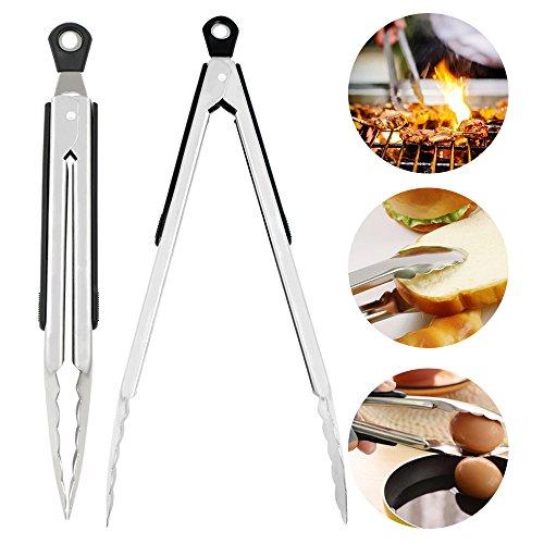 2-pezzicucina-pinze-barbecue-in-acciaio-inox-e-silicone-professionali-termoresistente-pinze-per-serv
