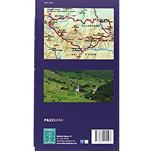 Pass'Aran. Couserans-Aran. Mapa-Gía. Escala 1:25.000. Catalán, castellano, francés, aranés. Editorial Alpina.
