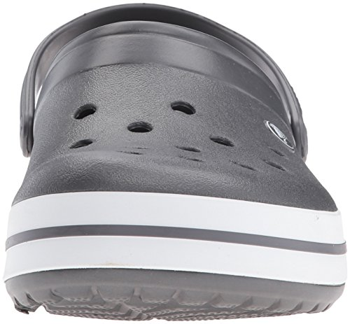 Crocs Unisex-erwachsene Crocband Zoccoli Grau (grafite / Bianco)