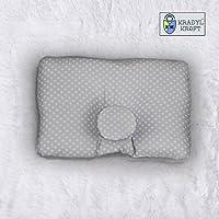 Kradyl Kroft Head Sleeping Pillow for Baby (Newton Grey)